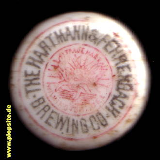 Obraz porcelany z: Hartmann & Fehrenbach Brewing Co., Wilmington, DE, USA